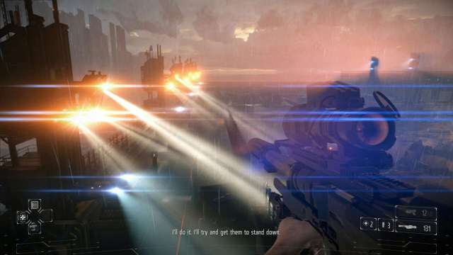 Killzone lens flares - high dynamic range and highly saturated colors producing interesting beautiful effect, or abused effect and unclear image?