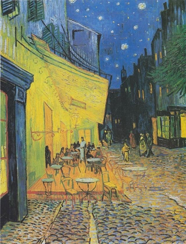"""Cafe Terrace at Night"", Vincent van Gogh"